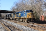 CSX Q398-20 with many engines
