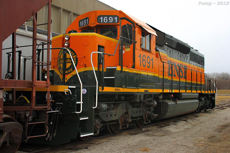 BNSF 1691 - EMD SD40-2