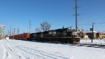 NS 2553 leads 25A Stack train south.