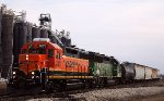 BNSF Lawrence switcher
