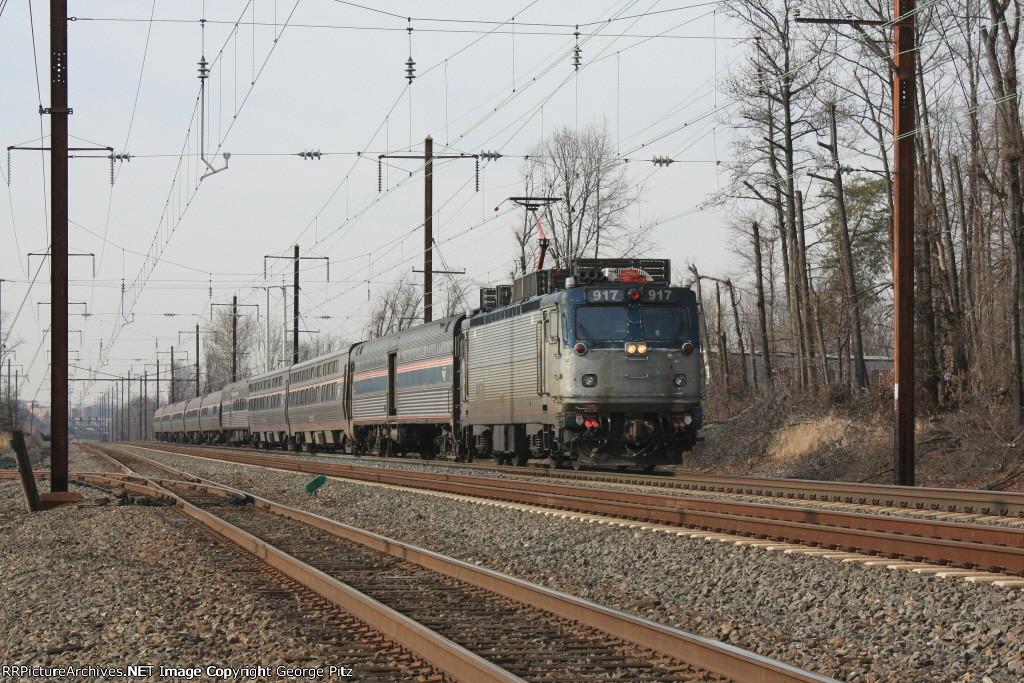 Amtrak train 20(7)