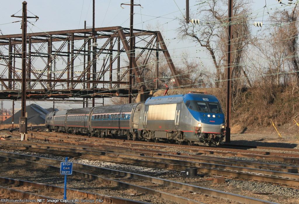 Amtrak train 86(8)