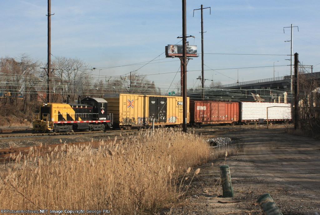 Canton Railroad 1203 on tthe President Street Branch