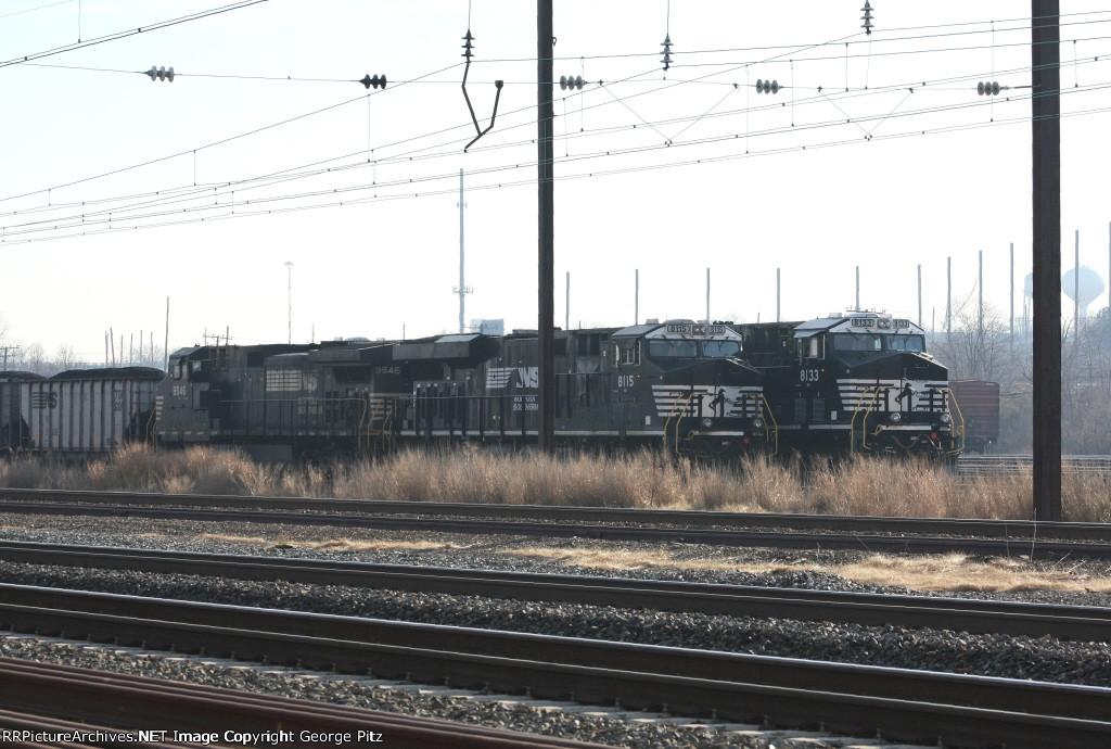 NS 9546, 8115 and 8133 at Bay View yard