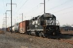NS local freight H6G goes home