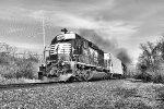 "NS 3383 under a full head of ""steam"""