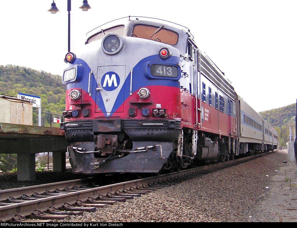 Metro North F10 # 413