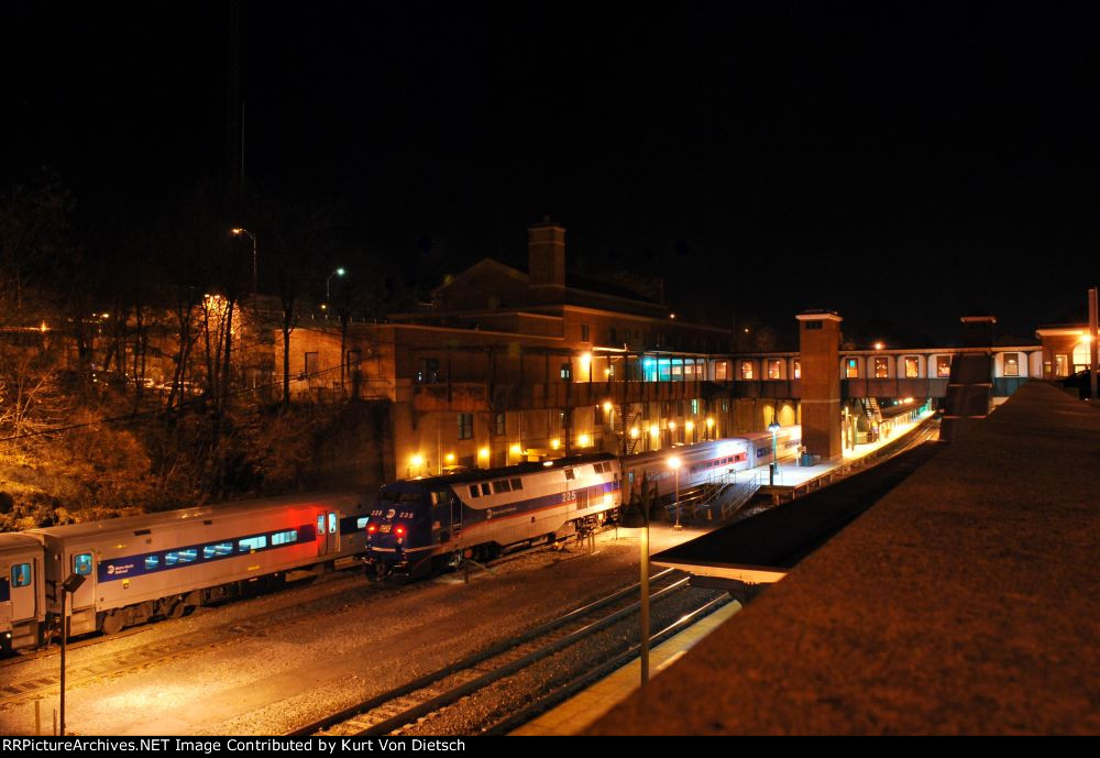 Poughkeepsie at Night