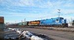 Ohio Central RR 4096 & 4094 at Cambridge, Ohio.