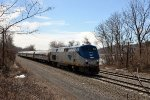 Empire Service approaching Poughkeepsie