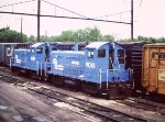 Conrail SW9s at Bennings Yard, Washington DC