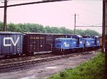 CR 8989 CR 9696 - SW9s at Bennings Yard - Washington DC