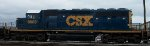 CSX 8803, conductor's view