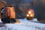 CP (ex-D&H) Freight Main; CP 252 @ CPF 546.98