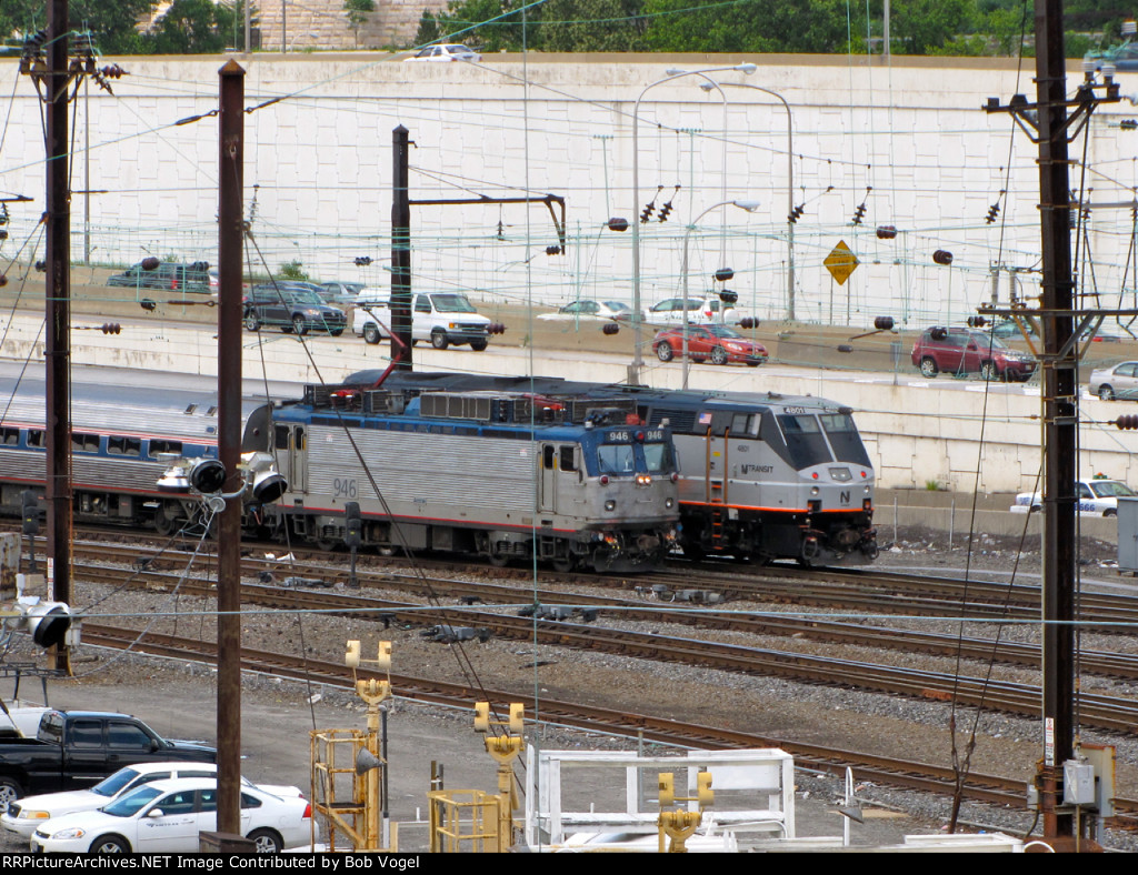 AMTK 946 and NJT 4801