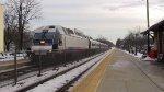 Train 1115 Pulling In