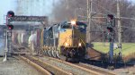 SD70ACe 4849 on Q438