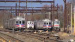 SEPTA Equipment in the Yard