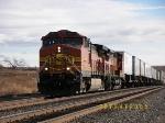 """Westbound """"Pig"""" train"""
