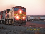 BNSF C44-9W 4581