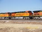 BNSF ES44DCs 7635 & 7738
