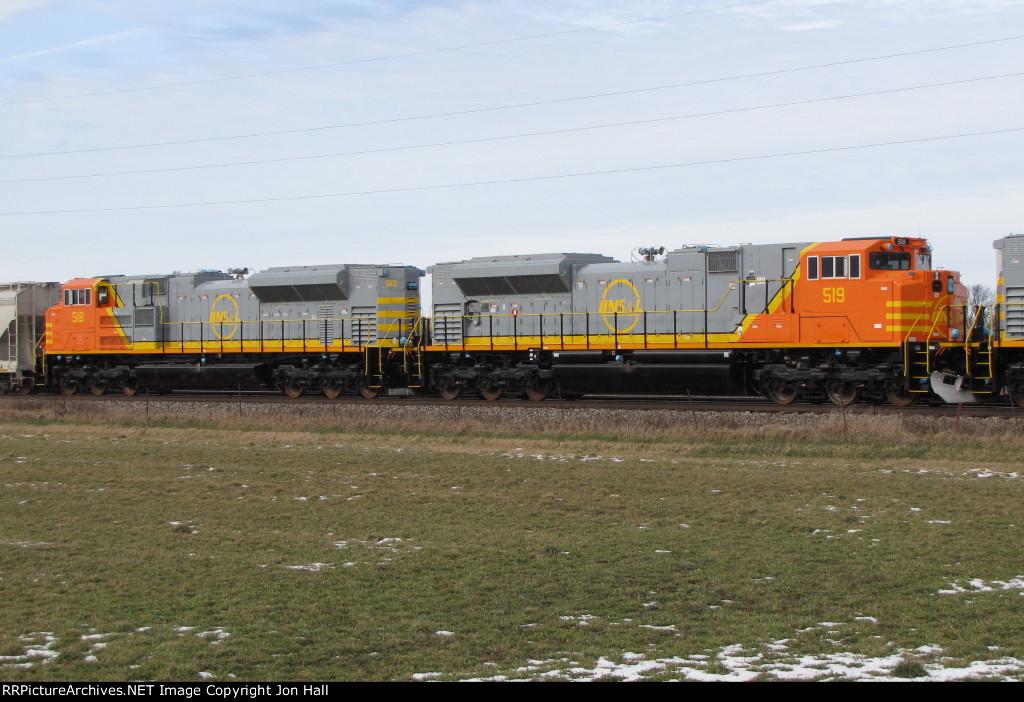 QNSL 519 & 518