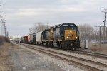 CSX 8059 & 8873 pull south at Kearsley with Q321-23