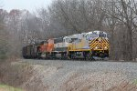 CREX 1312 leads the way as N903-14 makes its run up Saugatuck Hill