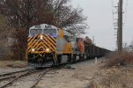CREX 1312 passes over the switch to the Ottawa Beach Spur as it heads north for West Olive