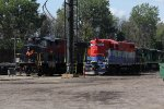 HESR 1721 sits next to the former KXHR 9580 which is halfway through its transformation into the HESR 3038