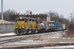 The 702 Job rolls south with about 60 cars for Durand