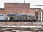 LSRC 469 sits back by the roundhouse