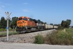 BNSF 5791 & 9825 roll south on the Fremont Sub with E950-17