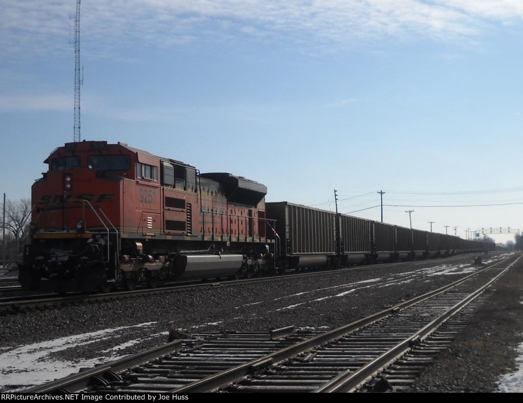 BNSF 9251 DPU