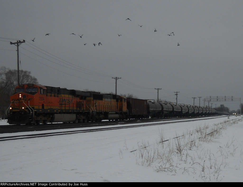 BNSF 7504 West