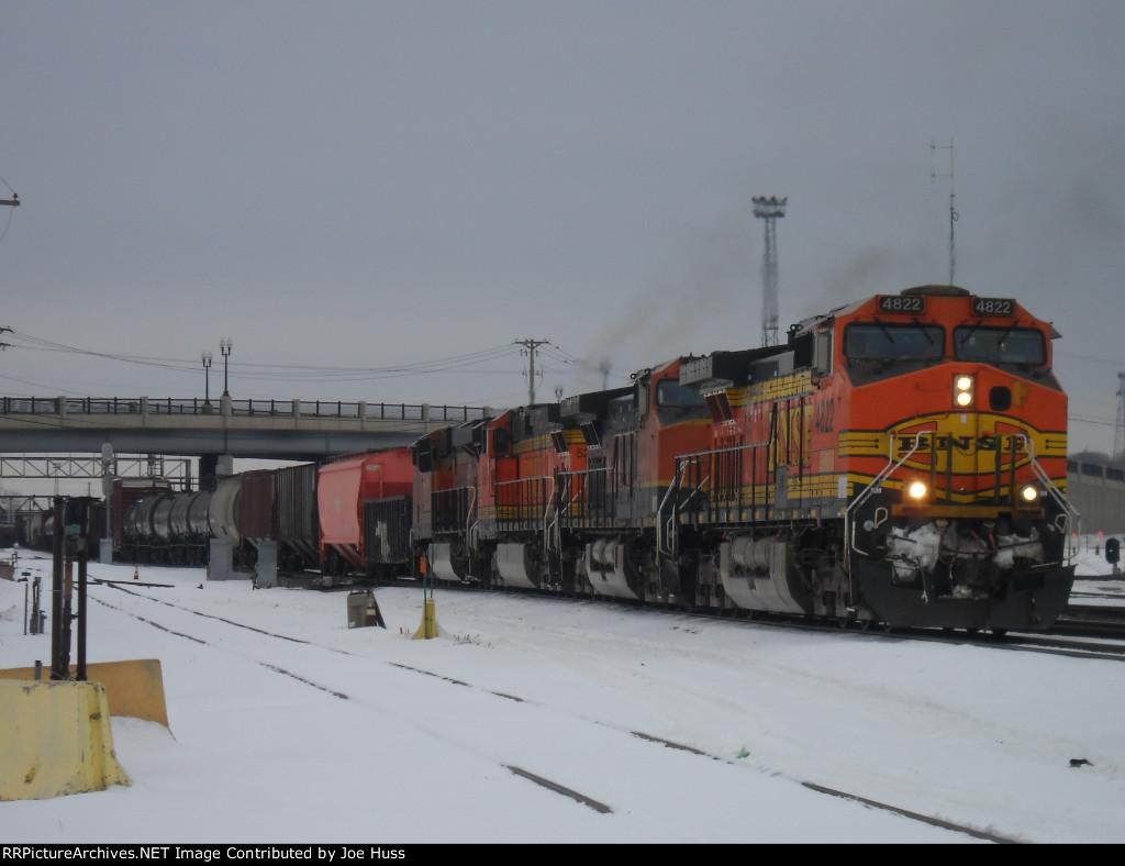 BNSF 4822 West