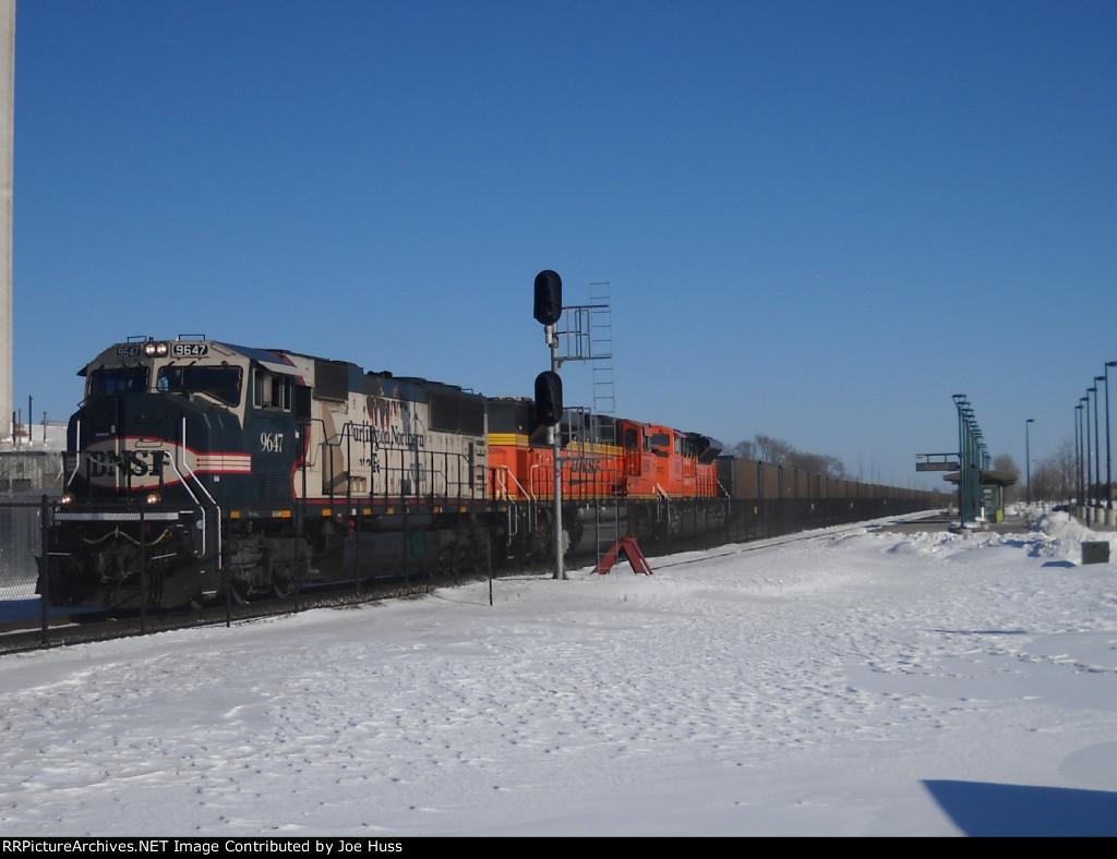 BNSF 9647 West
