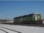 BNSF 8121 East