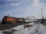 BNSF 6128 West