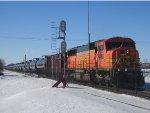 BNSF 9988 DPU