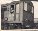 Victoria basin shunter about 1958