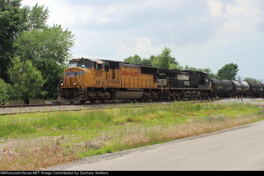 UP 4125 NS 9389