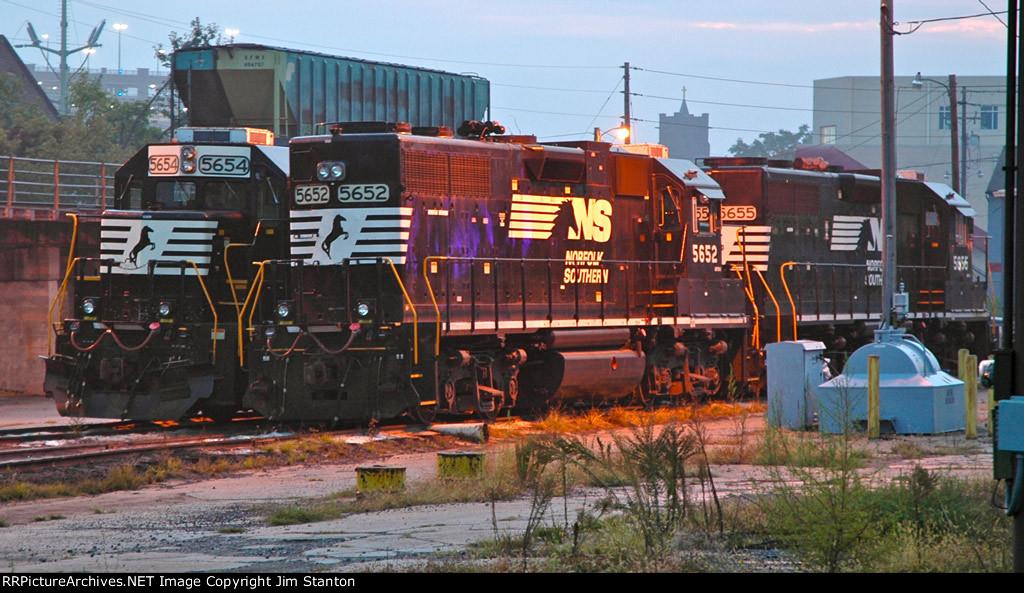 Diesels at Dawn
