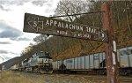 Appalachian Trail on the Buffalo Line