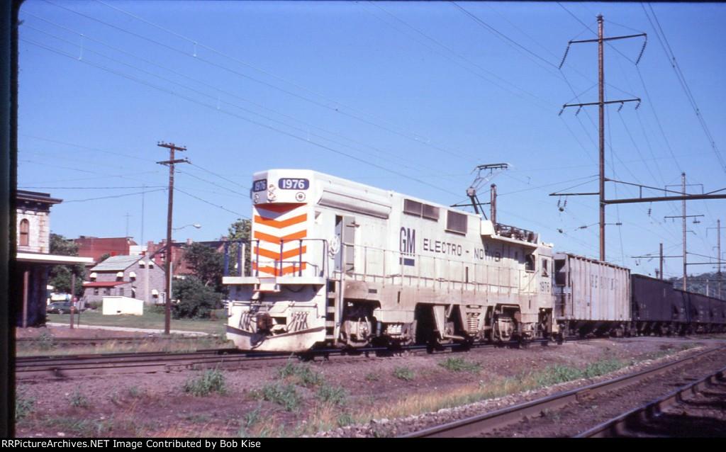 EMD GM-10B westbound