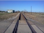 KCS freight in the distance