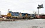 CSX Work Train