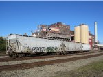 Covered Hopper Cars in Crockett