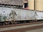 Covered Hopper Cars in Crockett (UP 77970 and UP 14023)