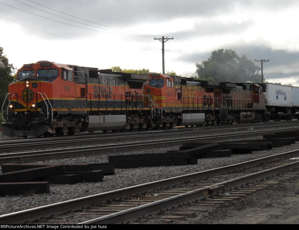 BNSF 1114 West